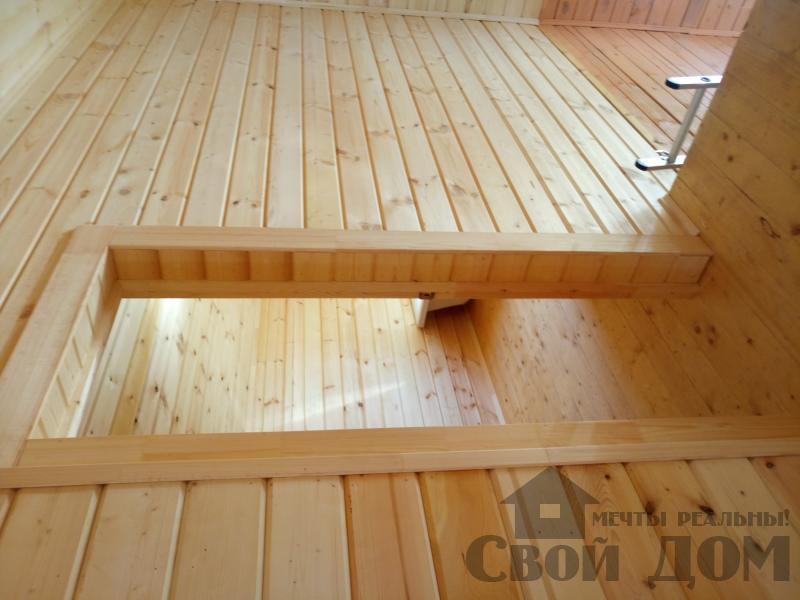 реконструкция дом-баня 8 на 8 в Загорново Раменский район. Фото 27