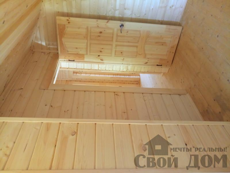 реконструкция дом-баня 8 на 8 в Загорново Раменский район. Фото 32
