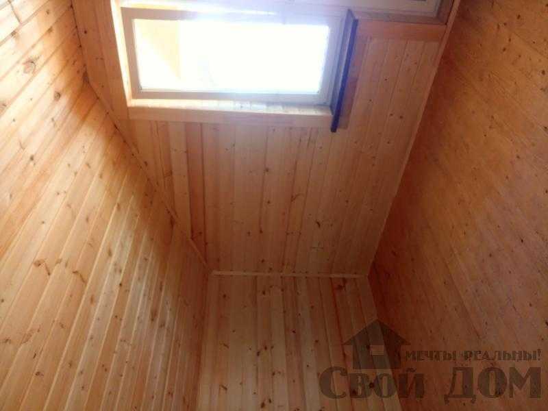 реконструкция дом-баня 8 на 8 в Загорново Раменский район. Фото 33