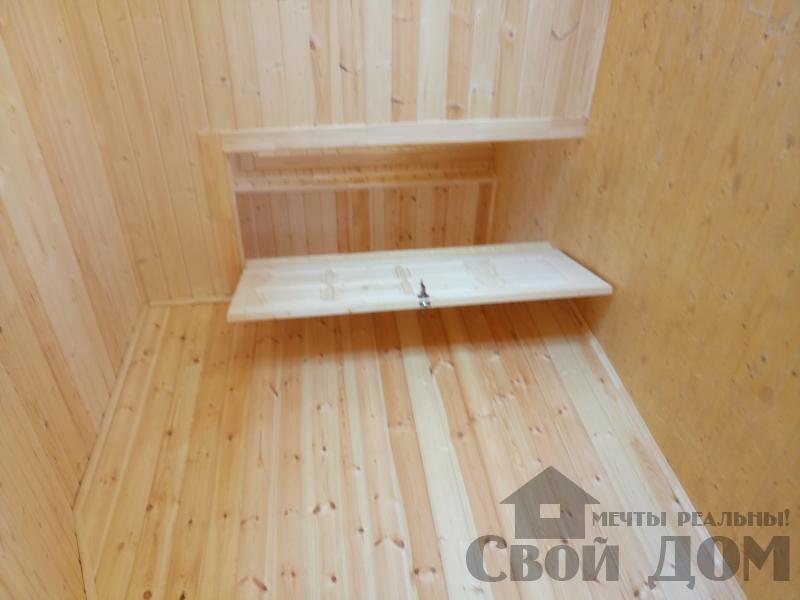 реконструкция дом-баня 8 на 8 в Загорново Раменский район. Фото 34