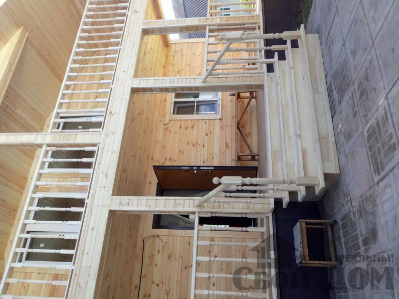 реконструкция дом-баня 8 на 8 в Загорново Раменский район. Фото 37