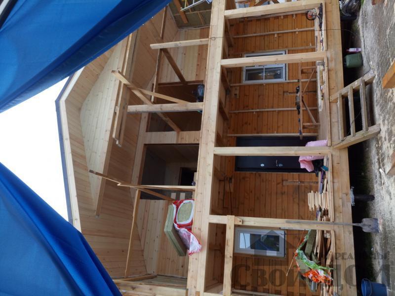 реконструкция дом-баня 8 на 8 в Загорново Раменский район. Фото 38
