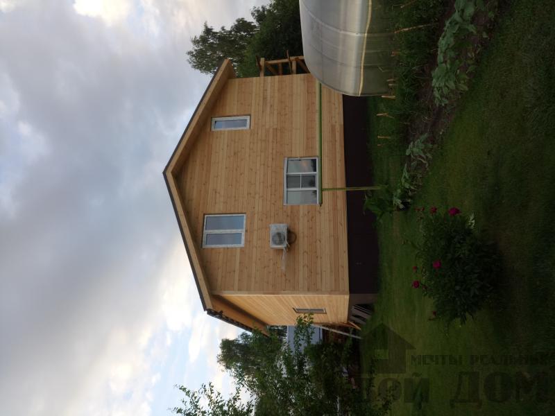 реконструкция дом-баня 8 на 8 в Загорново Раменский район. Фото 41