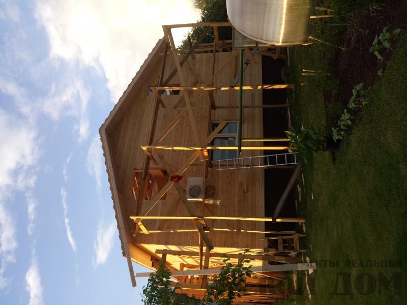 реконструкция дом-баня 8 на 8 в Загорново Раменский район. Фото 43