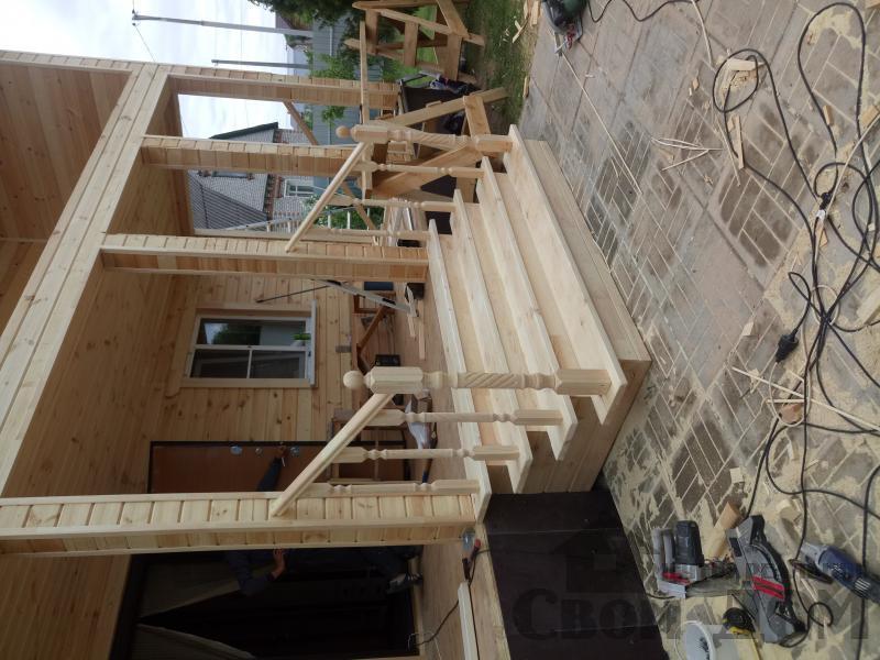 реконструкция дом-баня 8 на 8 в Загорново Раменский район. Фото 47