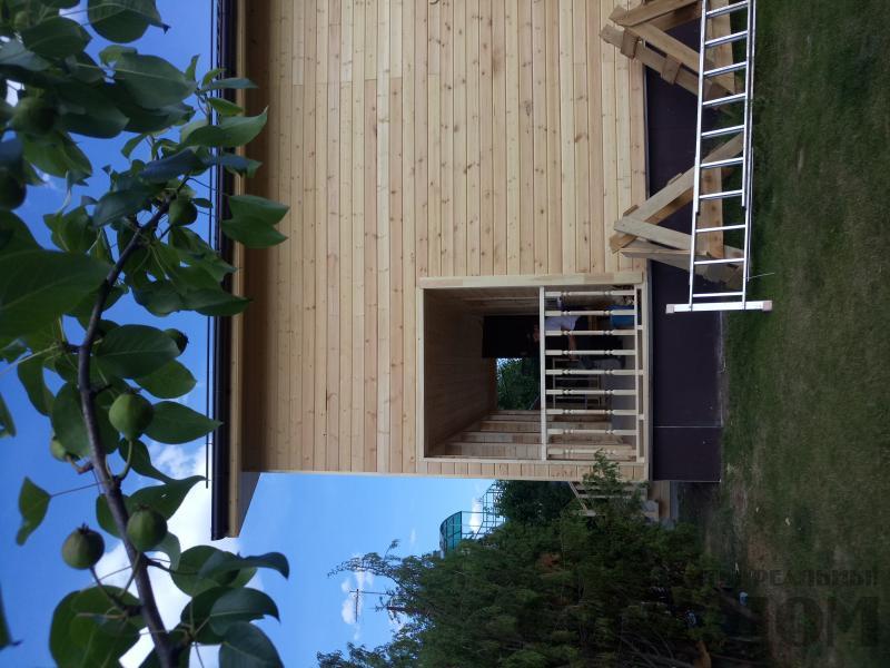 реконструкция дом-баня 8 на 8 в Загорново Раменский район. Фото 48