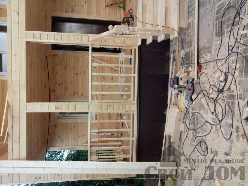 реконструкция дом-баня 8 на 8 в Загорново Раменский район. Фото 50