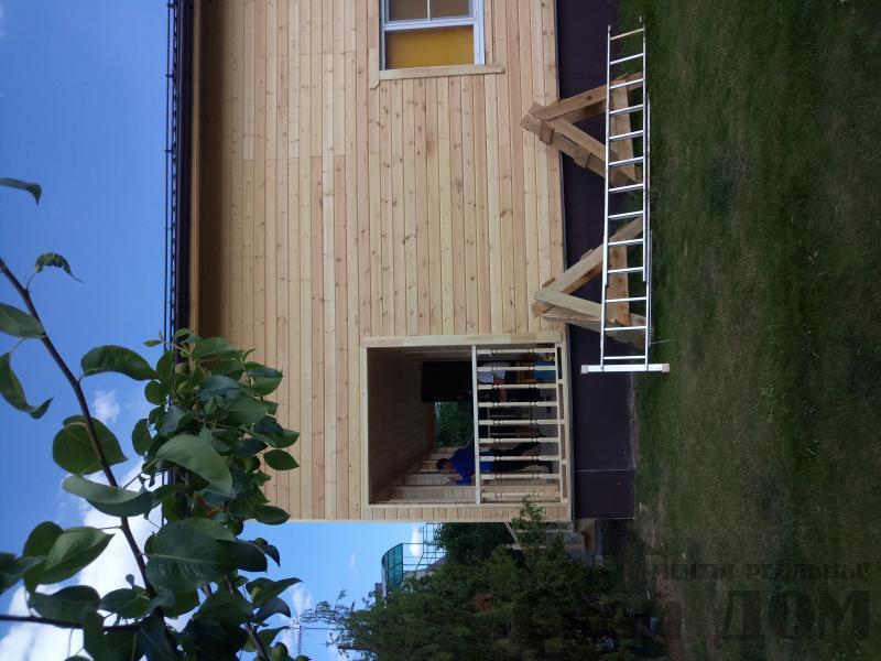 реконструкция дом-баня 8 на 8 в Загорново Раменский район. Фото 51