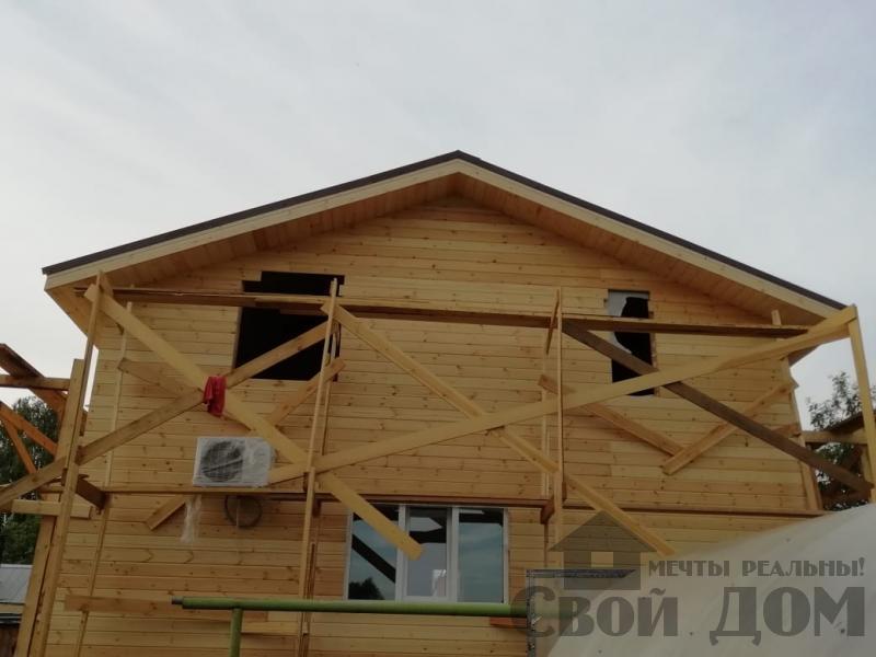 реконструкция дом-баня 8 на 8 в Загорново Раменский район. Фото 54
