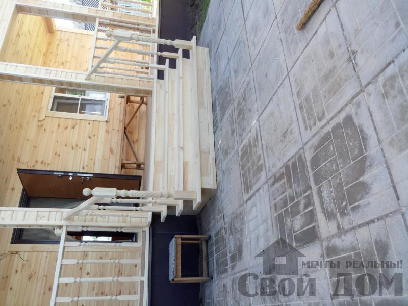 реконструкция дом-баня 8 на 8 в Загорново Раменский район. Фото 57