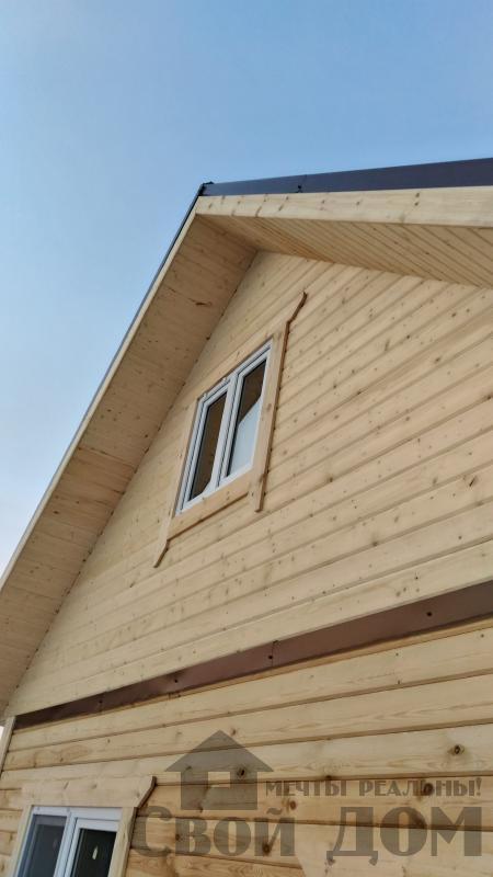 Строительство дома 6 на 6 с террасами в Луховицах. Фото 49