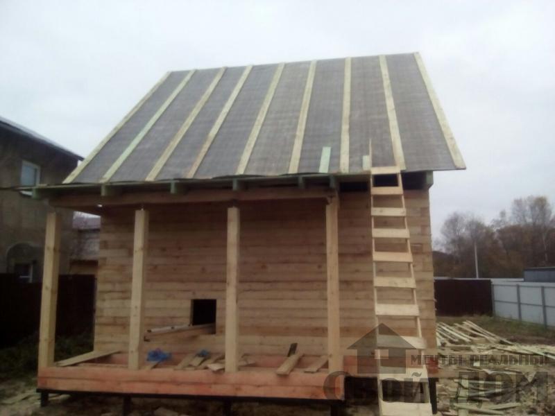 Строительство дома 6 на 9 зимний для постоянного проживания из бруса 150 150 в Мытищах. Фото 2
