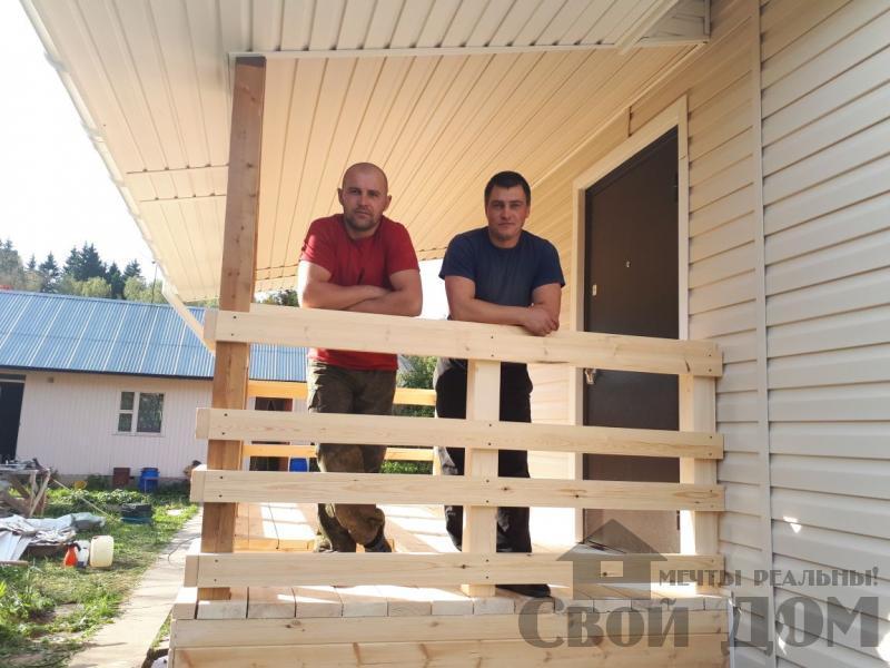 Нарофоминск отделка дома 6 9 из бруса 150 150. Фото 2