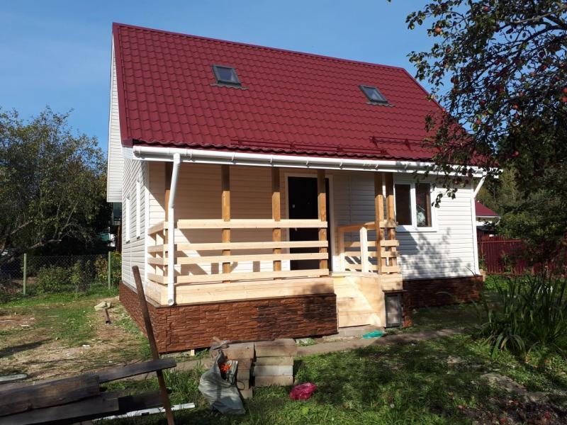 Нарофоминск отделка дома 6 9 из бруса 150 150. Фото 7