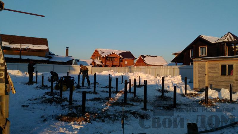 Дом 8 на 11 по проекту Брус 11 из  бруса 150 150 мм в Железнодорожном. Фото 4