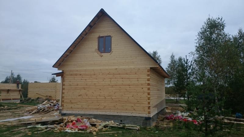 Строительство дома в Тульской области. Фото 1