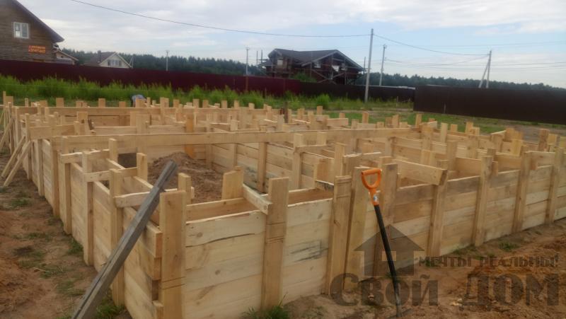 Душоново. Дом из бруса 150 на 150 мм на ленточно-армированном фундаменте. Фото 3