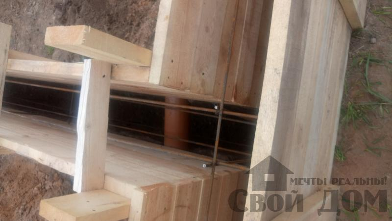 Душоново. Дом из бруса 150 на 150 мм на ленточно-армированном фундаменте. Фото 7