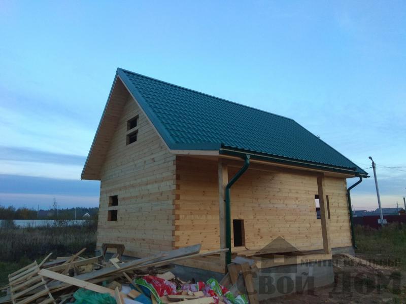 Душоново. Дом из бруса 150 на 150 мм на ленточно-армированном фундаменте. Фото 15