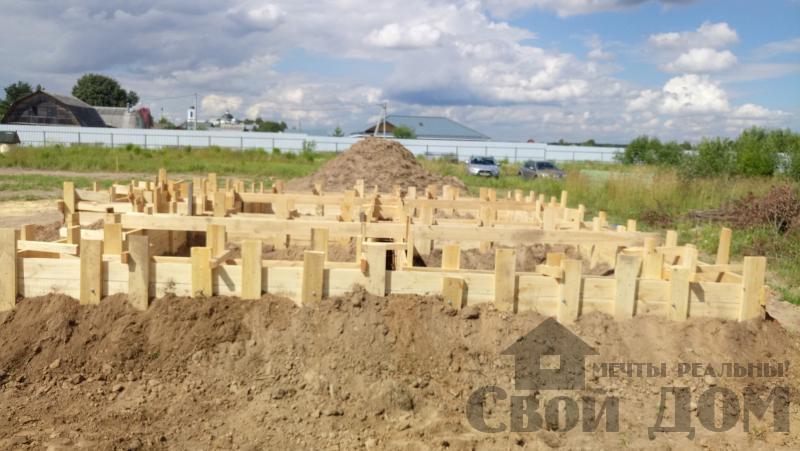 Душоново. Дом из бруса 150 на 150 мм на ленточно-армированном фундаменте. Фото 17