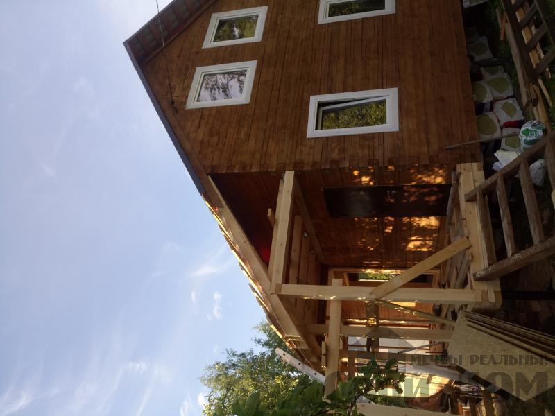 строительство дома 8 на 9 из бруса на садовом участке . Фото 7