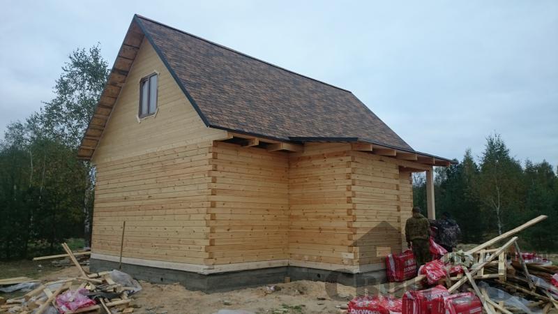 Строительство дома 8 на 9 в Ногинском районе. Фото 7