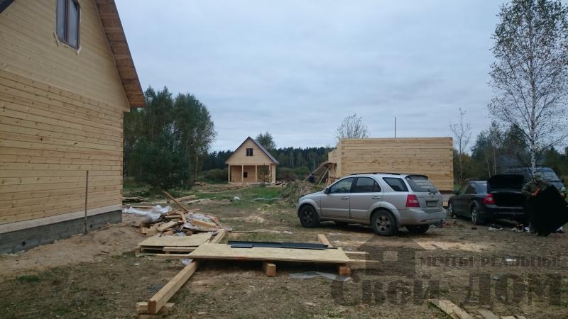 Строительство дома 8 на 9 в Ногинском районе. Фото 20