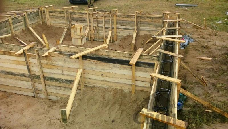 Строительство дома 8 на 9 в Ногинском районе. Фото 31