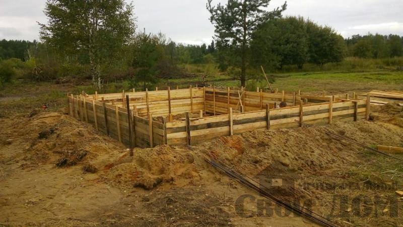 Строительство дома 8 на 9 в Ногинском районе. Фото 38