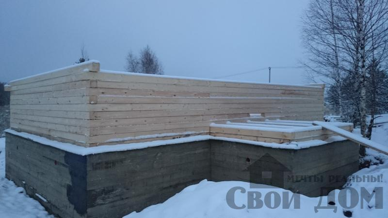 Подготовка ленточно-армированых фундаментов под дома. Фото 27