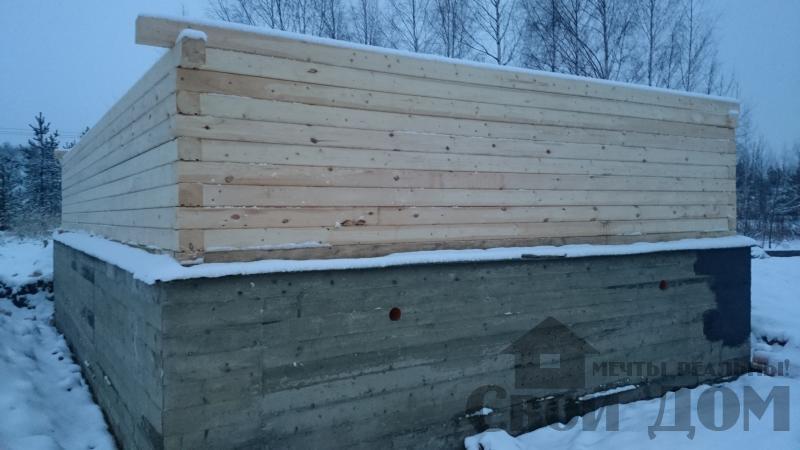 Подготовка ленточно-армированых фундаментов под дома. Фото 10