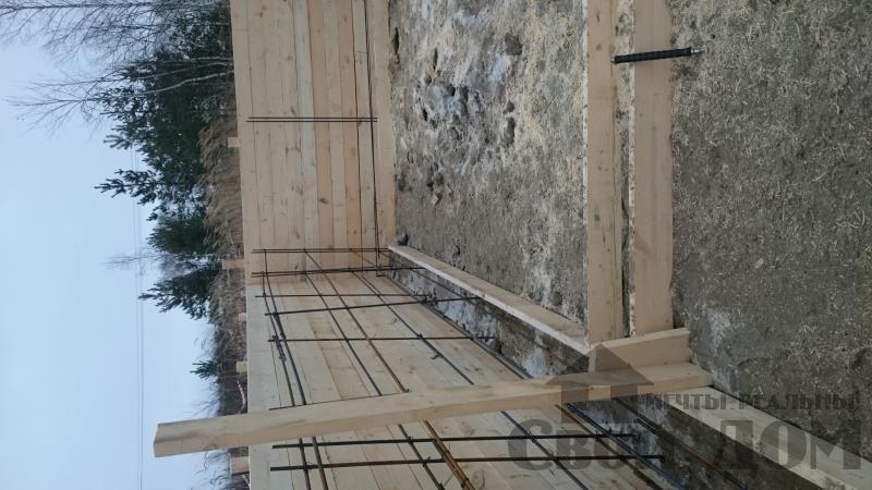 Подготовка ленточно-армированых фундаментов под дома. Фото 15