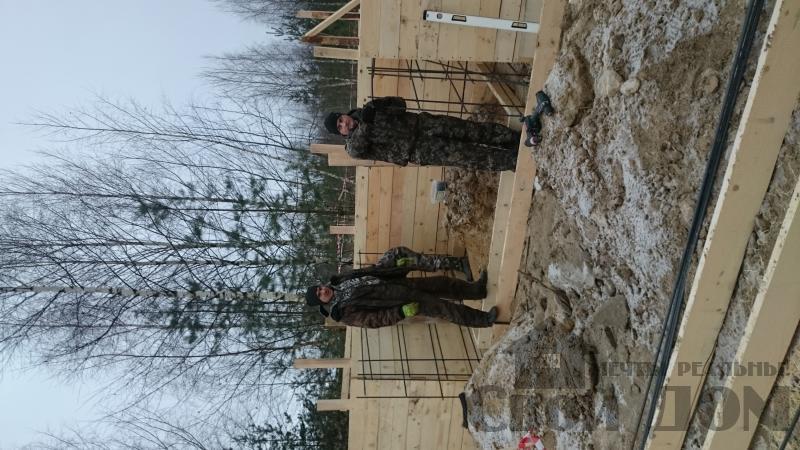 Подготовка ленточно-армированых фундаментов под дома. Фото 18