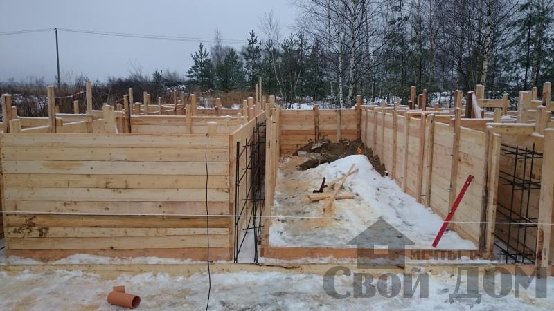 Подготовка ленточно-армированых фундаментов под дома. Фото 19