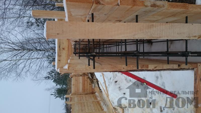 Подготовка ленточно-армированых фундаментов под дома. Фото 21