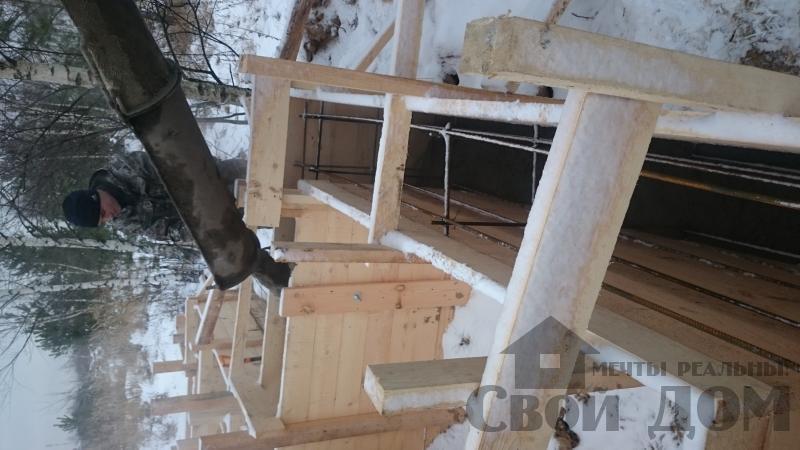 Подготовка ленточно-армированых фундаментов под дома. Фото 22
