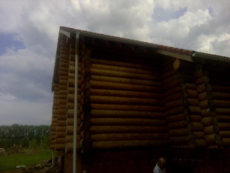 Возведение сруба 8 на 10 м в Ярославле. Фото 8