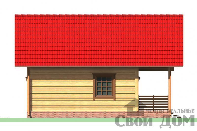 БРУС - 32. Дом 7,5*9 м